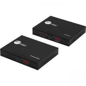 SIIG HDMI 2.0 4K60Hz Over IP Extender / Matrix with IR - Kit CE-H25A11-S1