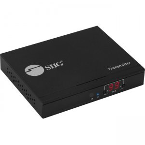 SIIG HDMI 2.0 4K60Hz Over IP Extender / Matrix with IR - Transmitter CE-H25B11-S1