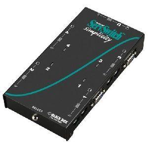 Black Box ServSwitch Simplicity 4-Port KVM Switch SW612A