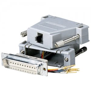 Black Box MMJ Modular Adapter Kit, DB25 to MMJ, Male FA761