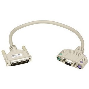 Black Box ServSwitch Ultra to Keyboard/Monitor/Mouse Cable with Audio (Coaxial) EHN383A-0050