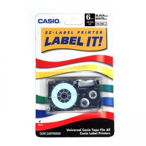 Casio Label Printer Tape XR-6WES