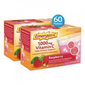 Emergen-C Immune Defense Drink Mix, Raspberry, 0.32 oz Packet, 60/Pack ALA139052 139052