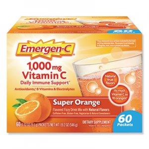 Emergen-C Immune Defense Drink Mix, Original Formula, Super Orange, 0.32 oz Packet, 60/Pack ALA130213 130213