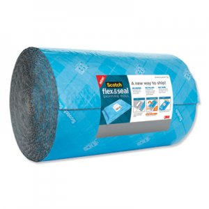 "Scotch Flex and Seal Shipping Roll, 15"" x 200 ft, Blue/Gray MMMFS15200 FS-15200"