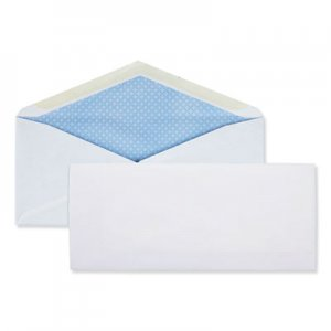Quality Park Business Envelope, #10, Monarch Flap, Gummed Closure, 4.13 x 9.5, White, 500/Box QUA90012