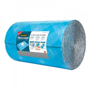 "Scotch Flex and Seal Shipping Roll, 15"" x 50 ft, Blue/Gray MMMFS1550 FS-1550"