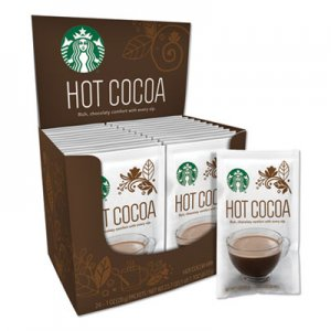 Starbucks Gourmet Hot Cocoa, 1 oz, 24/Box, 6 Boxes/Carton SBK011099790 11099790