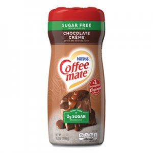 Coffee-mate Sugar Free Chocolate Creme Powdered Creamer, 10.2 oz, 6/Carton NES59573CT 59573CT