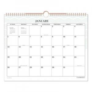 Cambridge Workstyle Wall Calendar, 14 7/8 x 11 7/8, Mint, 2020 AAGW128070746 W128070746
