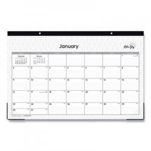 Blue Sky Classic Red Desk Pad, 17 x 11, 2020 BLS111293 111293