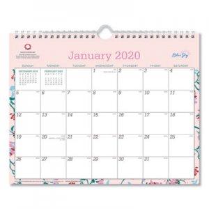 Blue Sky Breast Cancer Awareness Wall Calendar, 11 x 8 3/4, 2020 BLS101632 101632