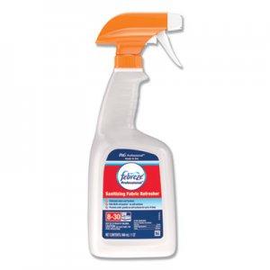 Febreze Professional Sanitizing Fabric Refresher, Light Scent, 32 oz Spray PGC72137EA 72137EA