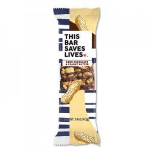 This Bar Saves Lives Snackbars, Dark Chocolate & Peanut Butter, 1.4 oz, 12/Box TSL00447PK 00447PK