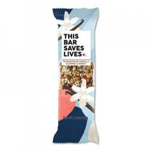 This Bar Saves Lives Snackbars, Madagascar Vanilla & Almond & Honey, 1.4 oz, 12/Box TSL00444PK 00444PK