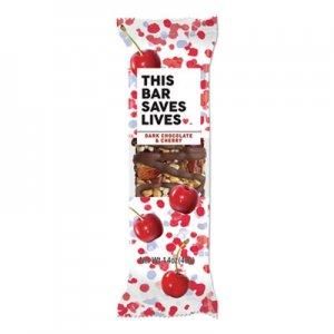 This Bar Saves Lives Snackbars, Dark Chocolate & Cherry, 1.4 oz, 12/Box TSL00443PK 00443PK