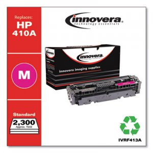 Innovera Remanufactured Magenta Toner Cartridge, Replacement for HP 410A (CF413A), 2,300 Page-Yield IVRF413A