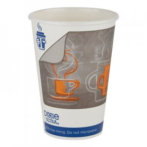 Georgia Pacific Professional Dixie Ultra Insulair Paper Hot Cup, 16 oz, Coffee, 50 Cups/Sleeve, 20 Sleeves/CT DXE6346AR 6346AR