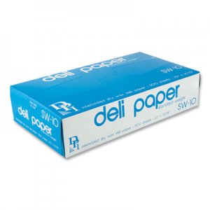 "Durable Packaging Interfolded Deli Sheets, 10"" x 10 3/4"", 500/Box DPKSW10XXBX SW10XXBX"
