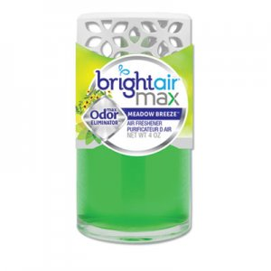 Bright Air Max Scented Oil Air Freshener, Meadow Breeze, 4 oz BRI900441EA 900441EA