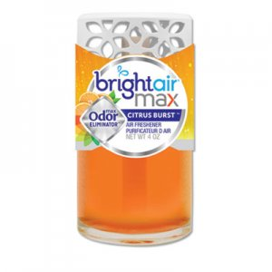 Bright Air Max Scented Oil Air Freshener, Citrus Burst, 4 oz BRI900440EA 900440EA