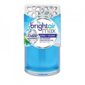 Bright Air Max Scented Oil Air Freshener, Cool and Clean, 4 oz BRI900439EA 900439EA