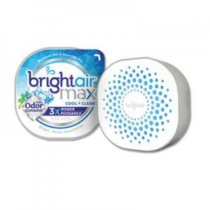 Bright Air Max Odor Eliminator Air Freshener, Cool and Clean, 8 oz BRI900437EA 900437EA