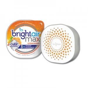 Bright Air Max Odor Eliminator Air Freshener, Citrus Burst, 8 oz BRI900436EA 900436EA