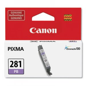 Canon 2092C001 (CLI-281) ChromaLife100 Ink, Blue CNM2092C001 2092C001