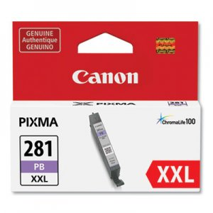 Canon 1984C001 (CLI-281XXL) ChromaLife100 Ink, Blue CNM1984C001 1984C001