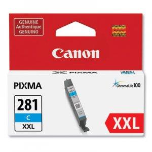Canon (CLI-281XXL) ChromaLife100 Ink, Cyan CNM1980C001 1980C001