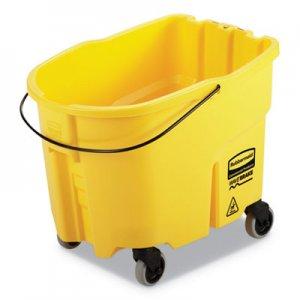 Rubbermaid Commercial WaveBrake 2.0 Bucket, 8.75 gal, Plastic, Yellow RCPFG757088YEL 2064914