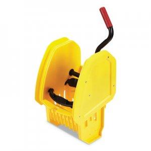 Rubbermaid Commercial WaveBrake 2.0 Wringer, Down-Press, Plastic, Yellow RCP2064959 2064959