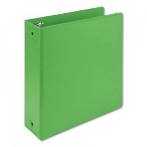 """Samsill Earth's Choice Biobased Economy Round Ring View Binders, 3 Rings, 3"""" Capacity, 11 x 8.5, Lime SAM17385"""