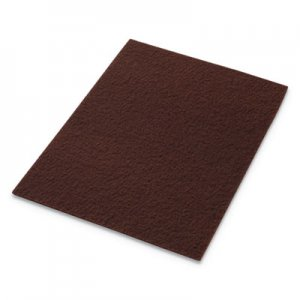 "Americo EcoPrep EPP Specialty Pads, 12"" x 18"", Maroon, 10/Carton AMF42071218 42071218"
