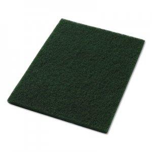 "Americo Scrubbing Pads, 14"" x 20"", Green, 5/Carton AMF40031420 40031420"