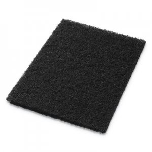 "Americo Stripping Pads, 12"" x 18"", Black, 5/Carton AMF40011218 40011218"