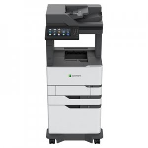 Lexmark MX826adxe Multifunction Printer, Copy/Fax/Print/Scan LEX25B0611 25B0611