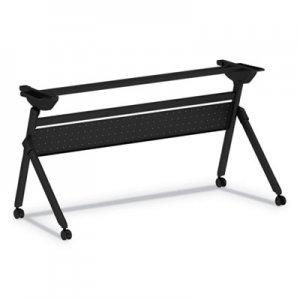 Alera Flip and Nest Table Base, 55 7/8w x 23 5/8d x 28 1/2h, Black ALEVA7276BK