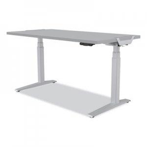 "Fellowes Levado Laminate Table Top, 60"" x 30"" x , Gray FEL9649501 9649501"
