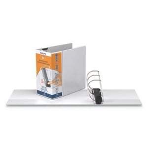 """Stride QuickFit PRO Heavy Duty Storage D-Ring View Binder, 3 Rings, 6"""" Capacity, 11 x 8.5, White STW90080"""