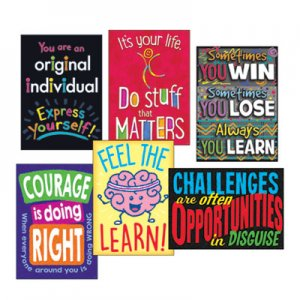 """TREND ARGUS Poster Combo Pack, """"Life Lessons"""", 13 3/8w x 19h TEPTA67937 TA67937"""