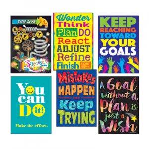 "TREND ARGUS Poster Combo Pack, ""Goal-Getter"", 13 3/8w x 19h TEPTA67936 TA67936"