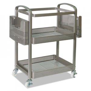 Alera Mobile File Cart, 22 1/4w x 12 3/8d x 25 1/4h, Silver ALEFM642212G