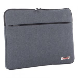 "Swiss Mobility Sterling 14"" Computer Sleeve, Holds Laptops 14.1"", 1"" x 1"" x 10.5"", Gray SWZTAC1024SMGRY TAC1024SMGRY"