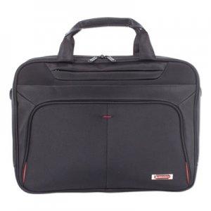 """Swiss Mobility Purpose Executive Briefcase, Holds Laptops 15.6"""", 3.5"""" x 3.5"""" x 12"""", Black SWZEXB1005SMBK EXB1005SMBK"""