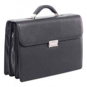 """Swiss Mobility Milestone Briefcase, Holds Laptops 15.6"""", 5"""" x 5"""" x 12"""", Black SWZ49545801SM 49545801SM"""