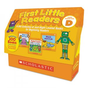 Scholastic First Little Readers, Reading, Grades Pre K-2, 8 Pages/Book, 5 Books, Level D SHS811146 9781338111460