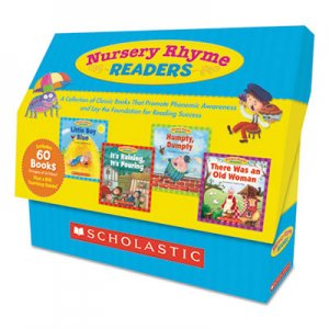 Scholastic Nursery Rhyme Readers, Phonics; Reading, Grades Pre K-1, 8 Pages/Book SHS525020 9780545250207