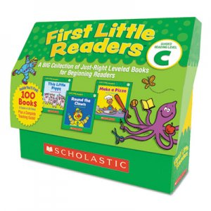 Scholastic First Little Readers, Reading, Grades Pre K-2, 8 Pages/Book, 20 Books, Level C SHS522303 9780545223034